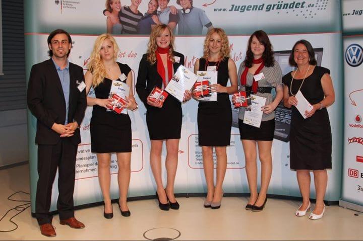 Jugend gründet 2012 - Preisverleihung